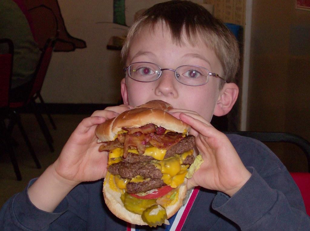 Mega Mel Burger |