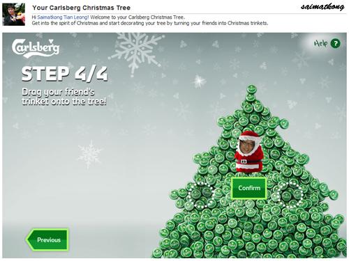 Hang it on christmas tree