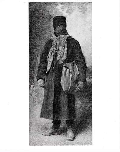 Unidentified rural letter carrier in his cold weather gear, c. 1910, Photographer unknown, National