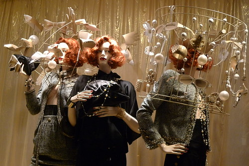 Vitrines Chanel- Paris décembre 2009