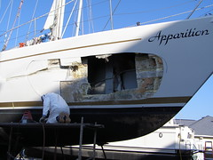 Apparation before (SeaBrookMarine) Tags: boat apparation boatrepair boatmaintenance seabrookmarine
