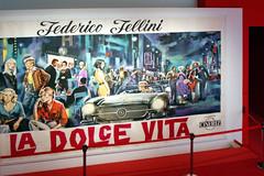 Entrée de l'exposition sur Federico Fellini (J...