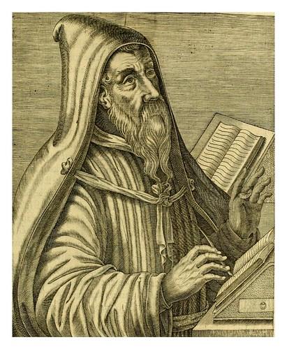 014-San Agustin-Les vrais pourtraits et vies des hommes illustres grecz, latins et payens 1584-André Thevet
