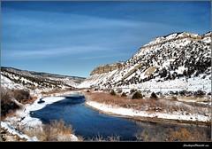 Colorado Scenery (ShacklefordPhotoArt) Tags: winter snow scenery colorado coloradoriver