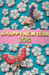 new year card 2010 (JILL's Sugar Collection) Tags: food cookies japan decoration sugar card icing piping 2010 foodcolor royalicing sugarcraft