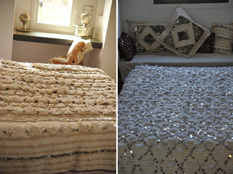 moroccan wedding blanket from mayram