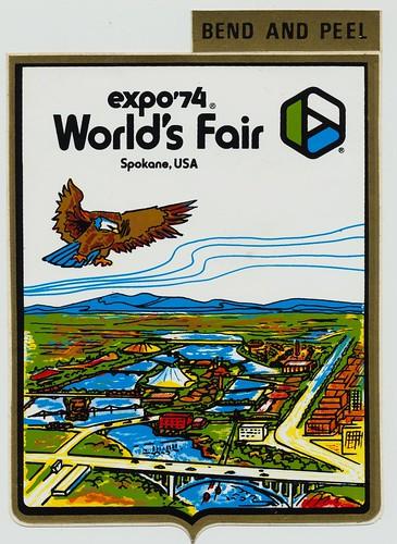 Dale Miller - Expo ' 74 / The Lilac City (Spokane)