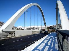 Bridging the gap (class 50) Tags: winter snow industry southwales wales bridges porth roads rhondda rhonddavalley