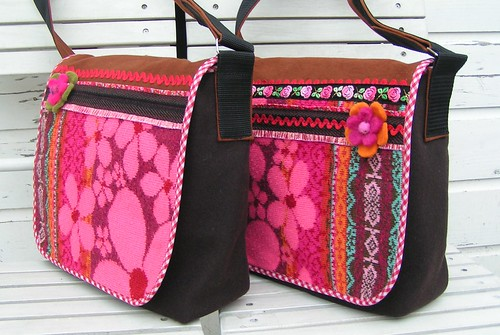 two new winterflower bags