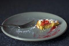 almond cake, mine