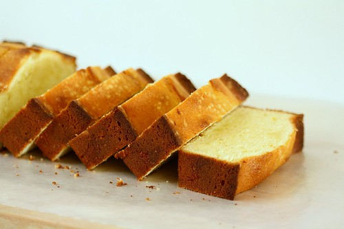SMS Lemon Sour Cream Pound Cake