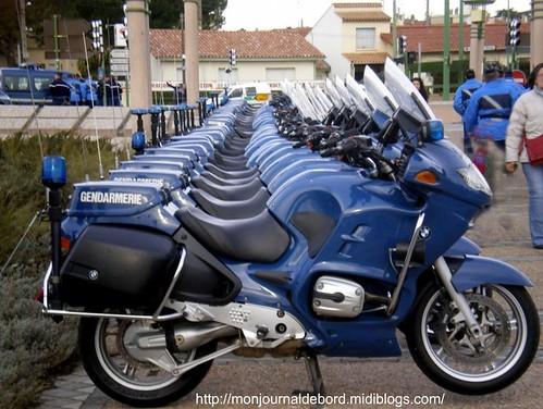 motos gendarmerie