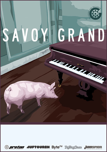 SAVOY GRAND TOUR POSTER