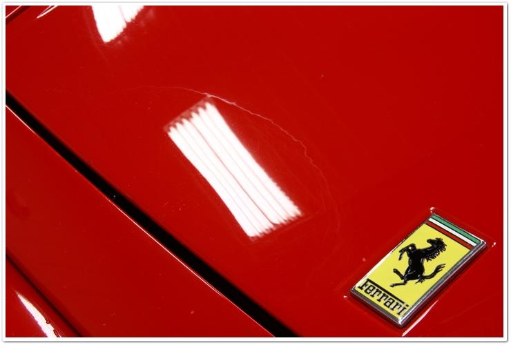 Ferrari 355 GTS blend mark
