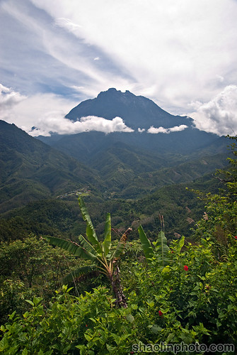 Might Mount Kinabalu