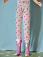 Blythe pink stars tights