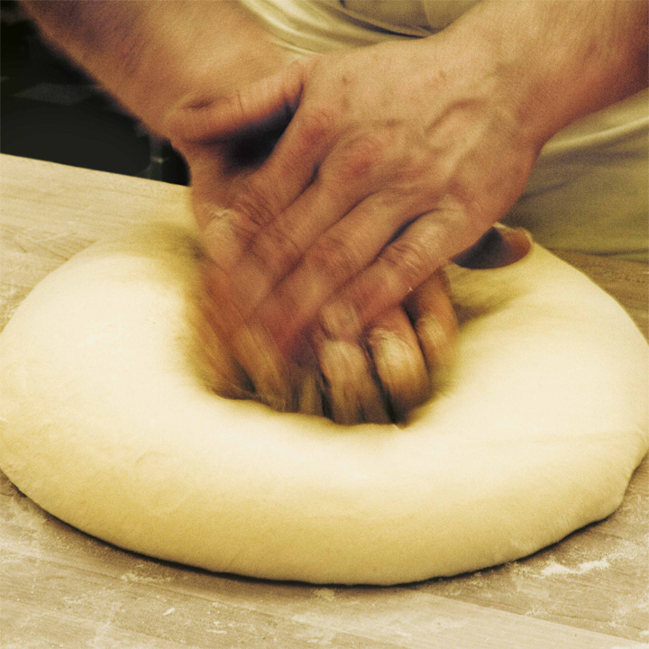 Pounding Dough