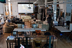 Pimp Your Hacker Space (Rubin 110) Tags: california us unitedstates lightroom hacklab ef28mmf18usm hackerspace noisebridge canoneosdigitalrebelxsi