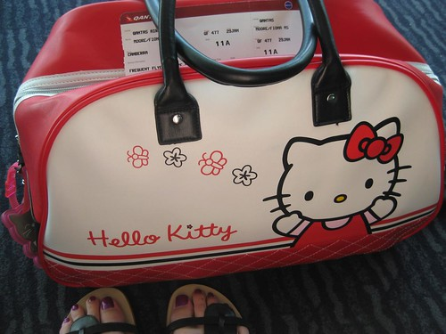Hello Kitty Overnight Bag