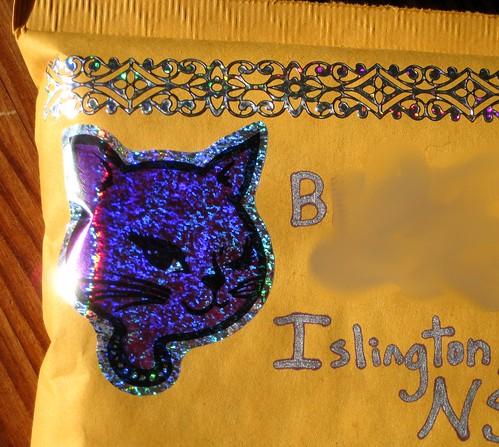 lady cat glitters