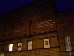 carry a poem - national library of scotland 01 (byronv2) Tags: building architecture night scotland edinburgh poetry poem oldtown lordbyron verse georgeivbridge nationallibraryofscotland edinburghbynight carryapoem edinburghcityofliterature