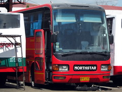 Northstar Transport Inc. (Chkz) Tags: bus panda nye transport m queen fuso limousine mitsubishi aero northstar emc 233     8dc11 ms729s 38209 chokz2go