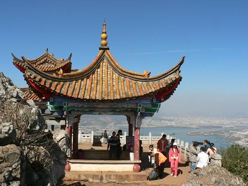 Kunming 昆明 Lin-Xu Pavillon sur les Western Hills-Xi shan