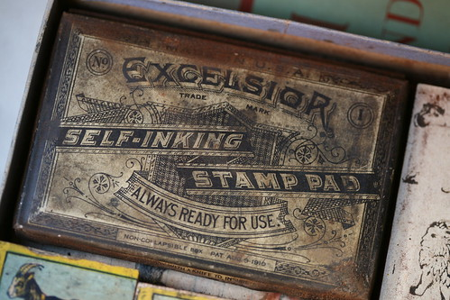 Excelsior Self-Inking Stamp Pad
