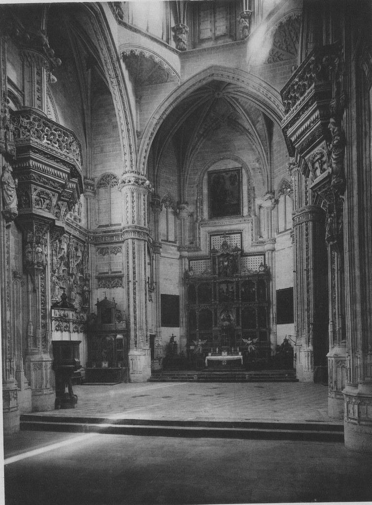 Interior del Monasterio de San Juan de los Reyes hacia 1888. Fotografía de R. Max Junghaendel. The Hispanic Society of America
