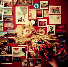Retro Stef (Rowena R) Tags: red colour love vintage hair bend popart your r themed dreads frontpage rowena  retrostef