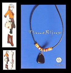 J61 (TianeBijux *Peas para voc brilhar*) Tags: bijuteria colar masculino couro