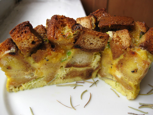 Savory Potato Bread Pudding