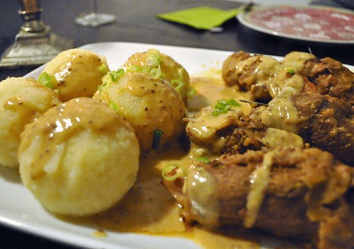 German Beef Roulade mit Knödel