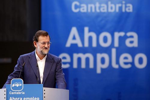 Rajoy en un acto