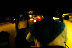 rikshaw (tuk-tuk) ride back home from work (hetul) Tags: street travel dps dpssilhouettes