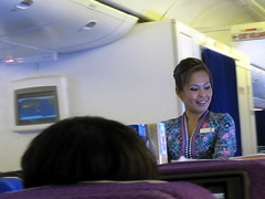 Malaysian Airline Flight Attendant. () Tags: sea vacation woman holiday girl smile plane airplane asian fly inflight airport uniform sitting candid aircraft flight jet lavender aeroporto aerial seats paparazzi garota mulheres boeing oriental frau stewardess malaysian mh 777 mujeres fille rtw airliner vacanze avion southchinasea asiangirl roundtheworld flightattendants flightattendant globetrotter boeing777 malaysiaairlines malaysiaairline areo airhostess cabincrew malaysianairlines airplanecabin 777200 airplaneseats insidetheplane worldtraveler airlineseats 22days boeing777200  36k cabininterior purpleseats 7772h6er flight89  interiorcabin femaleflightattendant inthecabin mh89 lavenderseats mh089 flight089 seat36k