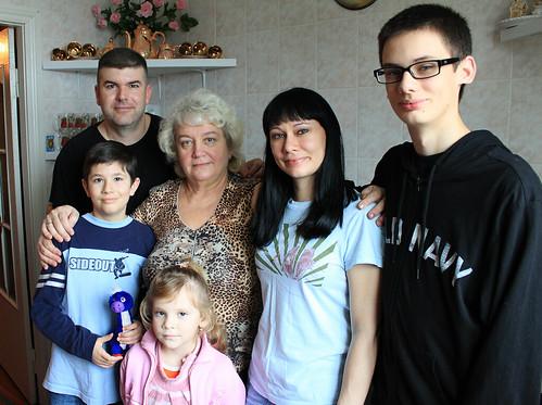 Joshua, Greg, Alyona, Olya, Edna, and Dominic
