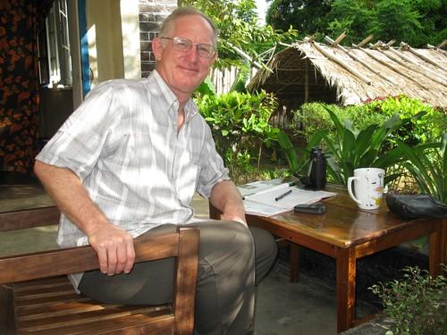 morning coffee in Kindu