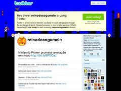Visite e Nos Siga em Nosso Twitter! (Reino do Cogumelo) Tags: brazil brasil site do mario cogumelo reino twitter