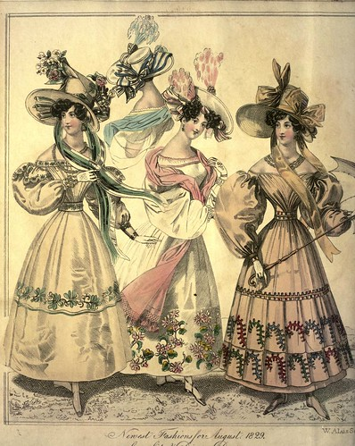 012-The World of fashion and continental feuilletons 1829