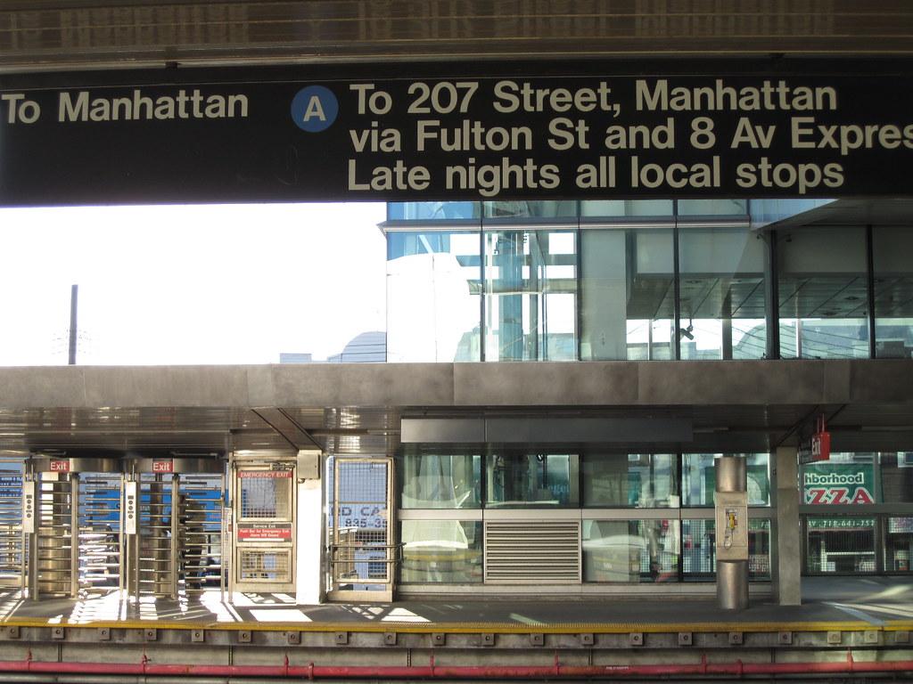 "Take the ""A"" Train at Howard Beach – JFK Airport Station"