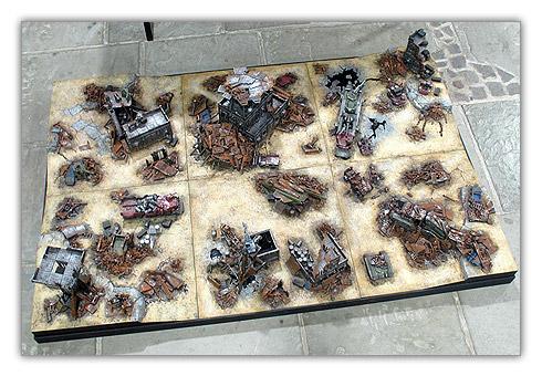 Décor Ork pour Warhammer 40.000