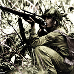 U.S. Marine sniper - the Pacific theatre ww2 thumbnail