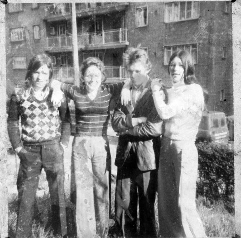 Friends in Strone, Cranhill, 1974.