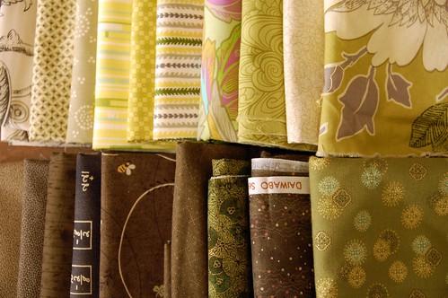 Karyn's Buzz Saw Quilt Fabrics