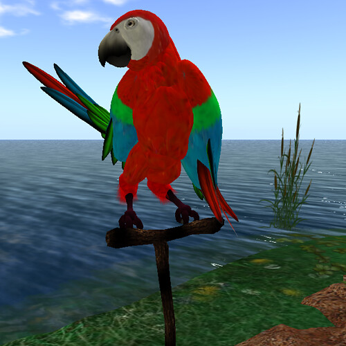 Grendel's Children Macaw