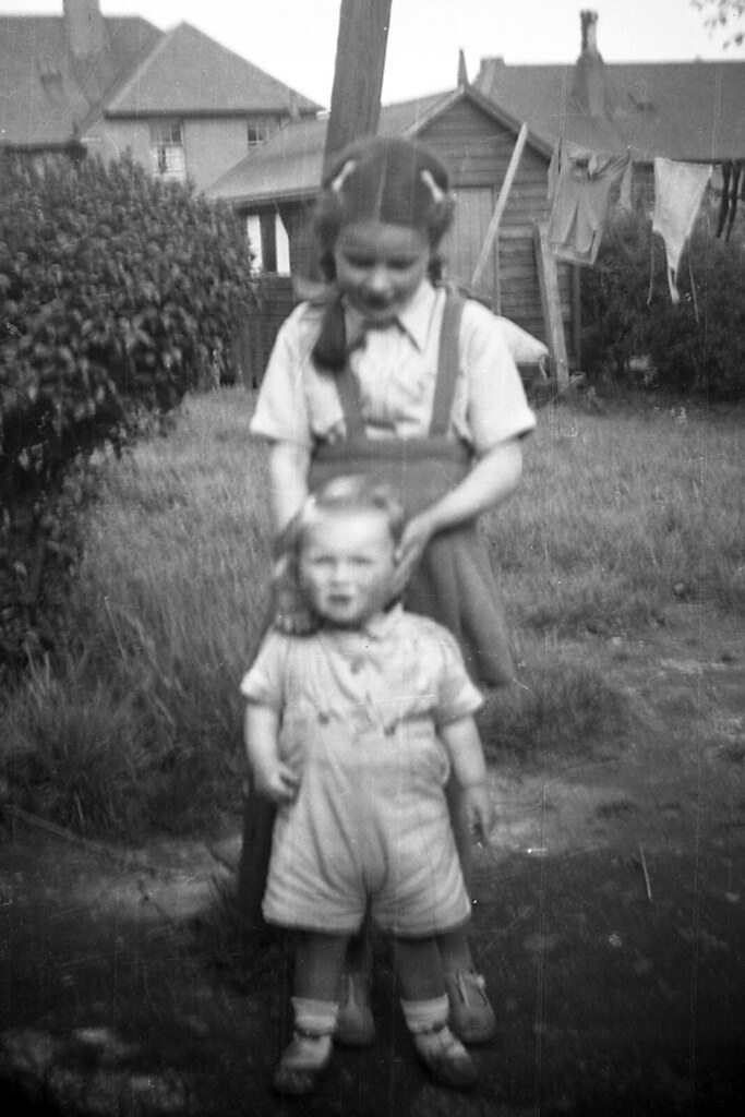 Irene Ross and Billy Waterside ? Kirkintilloch 1947