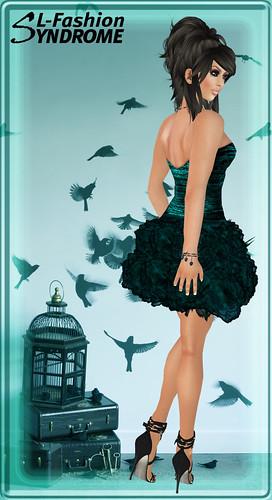 Azul Minidress Robin Aqua 1