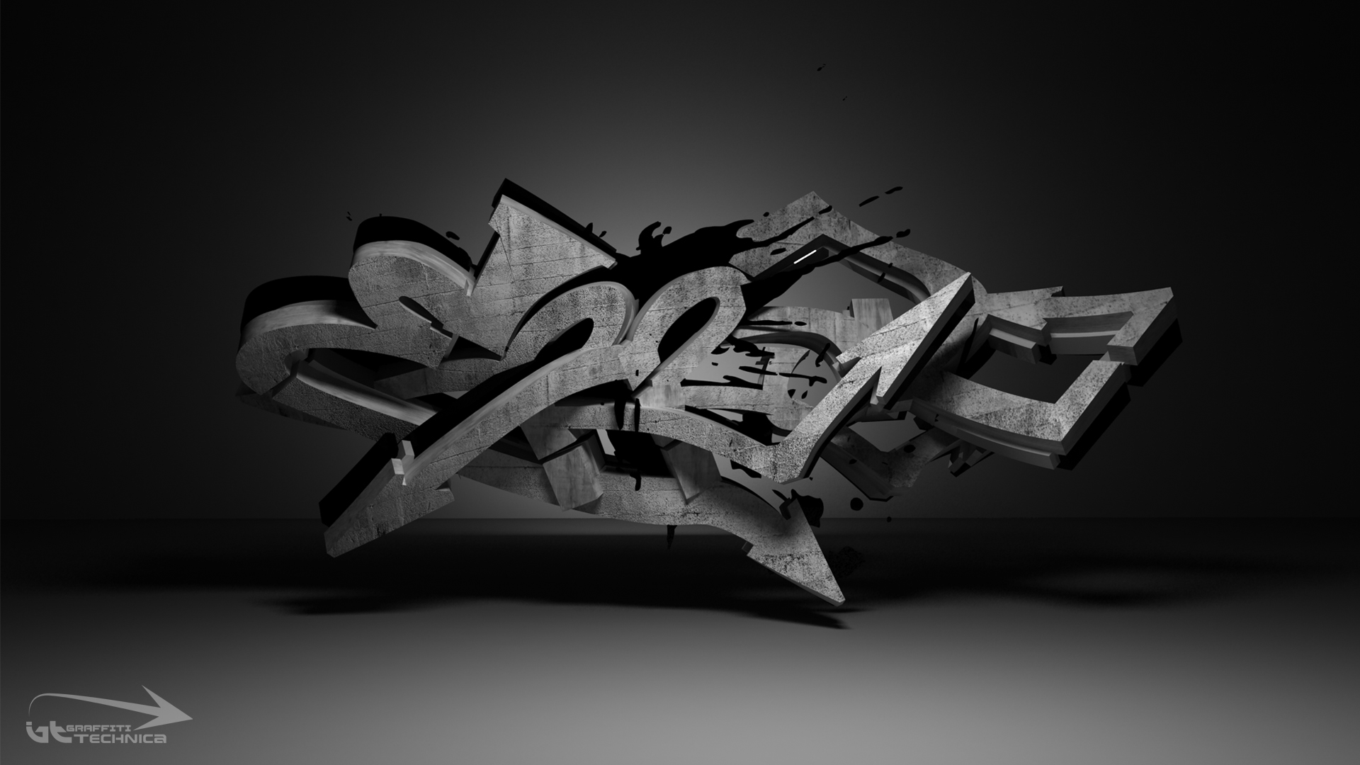 graffiti 3D y arte digital