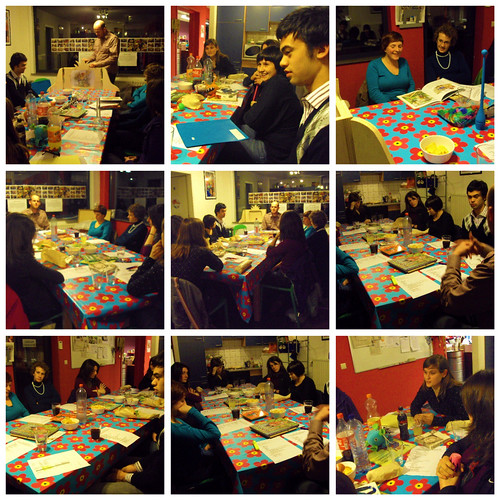 collage workshop leren vertellen